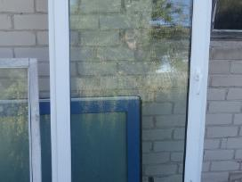 Naudoti Plastikiniai langai,durys,vitrinos,pigiau