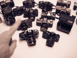 Nikon ,canon, yashica ,minolta ir kt