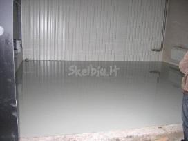 Poliuretaniniai epoksidiniai dažai betono grindims