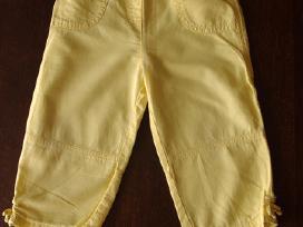 Gelsvos lininės Next kelnės 12-18 mėn. 86cm