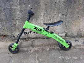 Puikus dviratukas - paspirtukas