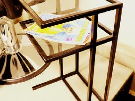 Metaliniai baldai pagal individualius užsakymus - nuotraukos Nr. 3