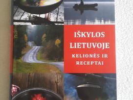 Knyga Iškylos Lietu.kelionės ir recept.