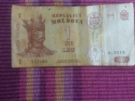 Moldaviškas popierinis 1 Leu