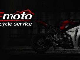 Motociku remontas Bemoto