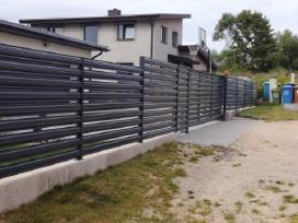 Siūlome ilgaamžišką metalinę tvorą nuo 1,09 eur/m