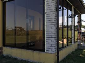 Šiltas ir šaltas balkonų ir stiklinimas iš Al
