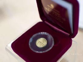 Pigiai parduodu Lb auksinių monetų kolekcija