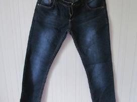Mėlyni turkiški džinsai