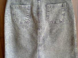 Džinsinis sijonas La Verno - nuotraukos Nr. 2