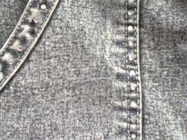 Džinsinis sijonas La Verno - nuotraukos Nr. 5