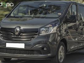 Naujų mikroautobusų nuoma Renault Trafic