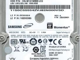 "2.5"" sata ir Ide laptop HDD ir SSD su garantija"