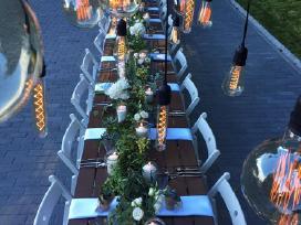 Lempučių girliandų nuoma vestuvėms ir kt. šventėms - nuotraukos Nr. 5