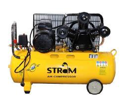 Vienfazis 3 cilindrų oro kompresorius 80 litrų