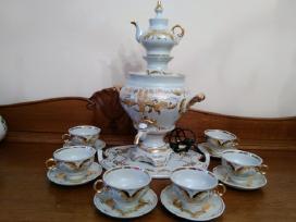 Virdulys samovaras porcelianinis