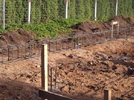 Įvairaus sudėtingumo Cfa polių betonavimas. - nuotraukos Nr. 8