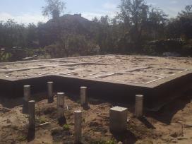 Įvairaus sudėtingumo Cfa polių betonavimas. - nuotraukos Nr. 10