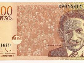 Kolumbija 1000 pesos 2015 P456