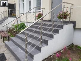 Laiptų-balkonų turėklų gamyba, tvoros, vartai
