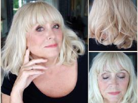 Makiažas ir šukuosena 70-metei - nuotraukos Nr. 7