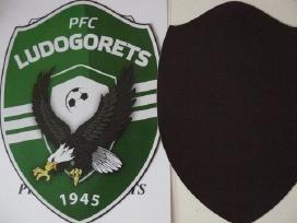 "Pfc ""Ludogorets"" futbolo klubo herbas magnetiniu."