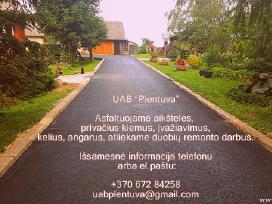 Asfaltavimo darbų paslaugos visoje Lietuvoje ! - nuotraukos Nr. 2