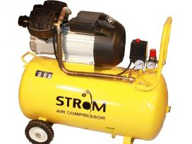 Oro kompresorius Strom 2c/70l 430l/min 3kw 220v