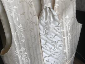 Vestuvinis kostiumas liemenė