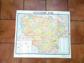 Lietuvos Tsr zemelapis 1968 metai