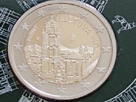 Vilniaus moneta - 2 eurų moneta skirta Vilniui