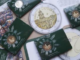 2 € moneta Bu kokybės, skirta Vilniui