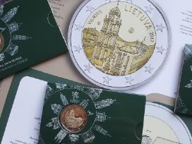 2 € moneta Bu kokybės, skirta Vilniui - nuotraukos Nr. 3