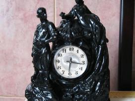 CCCP metalinio korpuso laikrodis - Veikia