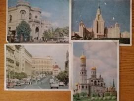 Atvirutes su Maskvos vaizdais