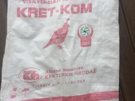 Parduodu naudotus 25kg maišus