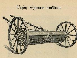 Senovinė žemės ūkio technika