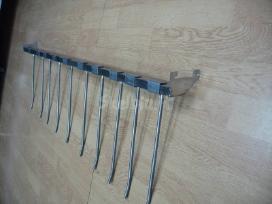 Nauji ir naudoti kabliukai į perforaciją, groteles
