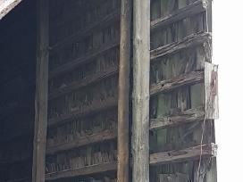 Ieškau senovinio kluono stogo grebėstų