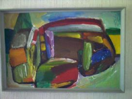Jono Čeponio 1970 metais tapytas paveikslas