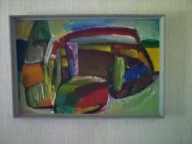 Jono Čeponio 1970 metais tapytas paveikslas - nuotraukos Nr. 3