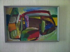 Jono Čeponio 1970 metais tapytas paveikslas - nuotraukos Nr. 4