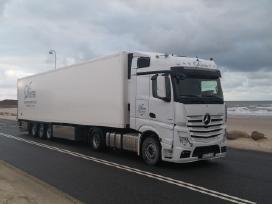 Darbas vairuotojui Ispanijoje