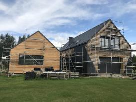 Karkasiniai namai, staliaus, dailides darbai