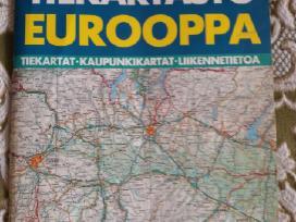 Keliones Europa zemelapiai, nuorodos, keliai.