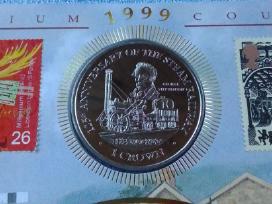 Isle of Man 1 crown cu-ni