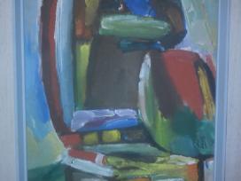 Jono Čeponio 1970 metais tapytas paveikslas - nuotraukos Nr. 5