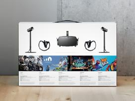 Naujas Oculus Rift + touch Virtual Reality System