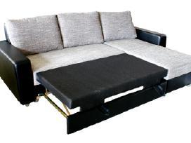 Minkštas kampas su miego funkcija+dėžė