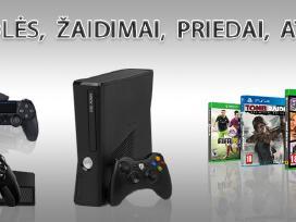 Xbox 360 zaidimai 33% nuolaida